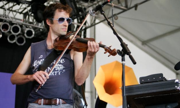 Andrew Bird & World Party At Bonnaroo 2006